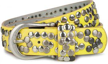 styleBREAKER Nieten Gürtel im Vintage Style, Nietengürtel kürzbar, Damen 03010008 – Bild 40