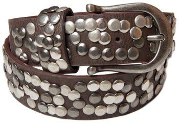 styleBREAKER Nieten Gürtel im Vintage Style, Nietengürtel kürzbar, Damen 03010008 – Bild 24