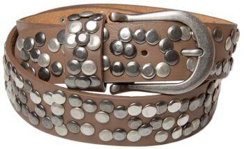 styleBREAKER Nieten Gürtel im Vintage Style, Nietengürtel kürzbar, Damen 03010008 – Bild 27