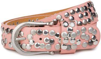 styleBREAKER Nieten Gürtel im Vintage Style, Nietengürtel kürzbar, Damen 03010008 – Bild 28