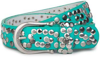 styleBREAKER Nieten Gürtel im Vintage Style, Nietengürtel kürzbar, Damen 03010008 – Bild 30