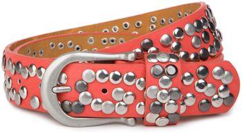 styleBREAKER Nieten Gürtel im Vintage Style, Nietengürtel kürzbar, Damen 03010008 – Bild 29