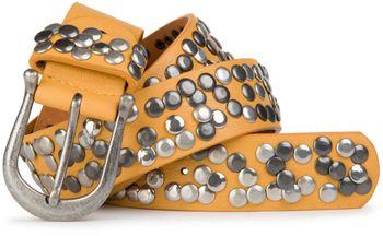 styleBREAKER Nieten Gürtel im Vintage Style, Nietengürtel kürzbar, Damen 03010008 – Bild 31