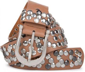 styleBREAKER Nieten Gürtel im Vintage Style, Nietengürtel kürzbar, Damen 03010008 – Bild 38