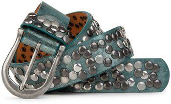 styleBREAKER Nieten Gürtel im Vintage Style, Nietengürtel kürzbar, Damen 03010008 – Bild 33