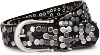 styleBREAKER Nietengürtel im Vintage Style, Gürtel kürzbar, Damen 03010008 – Bild 1