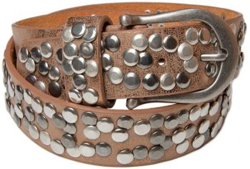 styleBREAKER studded belt in vintage style, shortened 03010008 – Bild 20