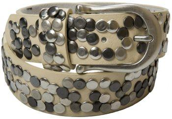 styleBREAKER Nieten Gürtel im Vintage Style, Nietengürtel kürzbar, Damen 03010008 – Bild 22
