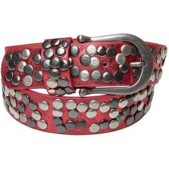 styleBREAKER Nietengürtel im Vintage Style, Gürtel kürzbar, Damen 03010008 – Bild 9