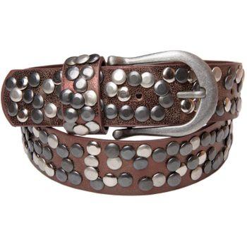 styleBREAKER Nietengürtel im Vintage Style, Gürtel kürzbar, Damen 03010008 – Bild 10