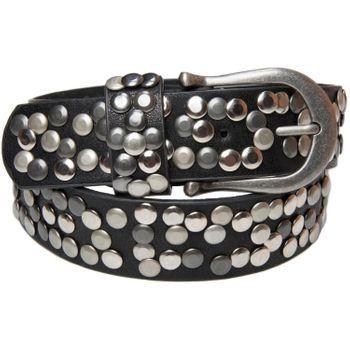 styleBREAKER Nietengürtel im Vintage Style, Gürtel kürzbar, Damen 03010008 – Bild 11