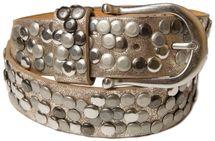 styleBREAKER Nieten Gürtel im Vintage Style, Nietengürtel kürzbar, Damen 03010008 – Bild 23