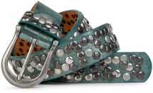 styleBREAKER studded belt in vintage style, shortened 03010008 – Bild 33