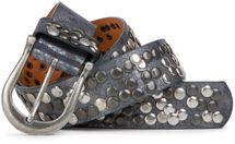 styleBREAKER Nieten Gürtel im Vintage Style, Nietengürtel kürzbar, Damen 03010008 – Bild 34