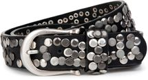 styleBREAKER studded belt in vintage style, shortened 03010008 – Bild 1