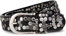 styleBREAKER Nieten Gürtel im Vintage Style, Nietengürtel kürzbar, Damen 03010008 – Bild 1