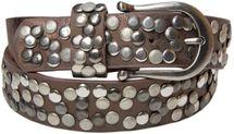 styleBREAKER Nietengürtel im Vintage Style, Gürtel kürzbar, Damen 03010008 – Bild 18