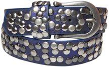 styleBREAKER Nieten Gürtel im Vintage Style, Nietengürtel kürzbar, Damen 03010008 – Bild 19