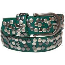 styleBREAKER Nietengürtel im Vintage Style, Gürtel kürzbar, Damen 03010008 – Bild 5