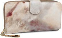 styleBREAKER Geldbörse mit Aquarell Muster, umlaufender Reißverschluss, Portemonnaie, Damen 02040075 – Bild 5