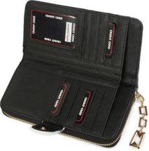 styleBREAKER Geldbörse mit Aquarell Muster, umlaufender Reißverschluss, Portemonnaie, Damen 02040075 – Bild 8