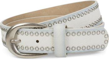 styleBREAKER Nietengürtel mit Lochnieten, Vintage Nieten Gürtel, kürzbar, Unisex 03010080 – Bild 5