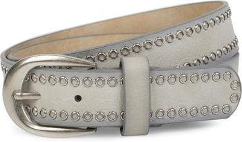 styleBREAKER Nietengürtel mit Lochnieten, Vintage Nieten Gürtel, kürzbar, Unisex 03010080 – Bild 7