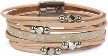 styleBREAKER Armband mit Ornament Muster, Schmuck Perlen und Bändern, Magnetverschluss, Armschmuck, Damen 05040098 – Bild 7