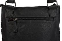 styleBREAKER Messenger Bag Umhängetasche mit Reißverschlussfächern auf der Vorderseite, Schultertasche, Tasche, Unisex 02012162 – Bild 3