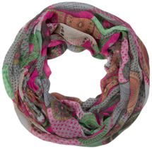 styleBREAKER ethno design loop tube scarf with colorful circles and dots 01016012 – Bild 48