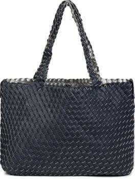 styleBREAKER XXL Wendetasche in Flecht-Optik, Shopper Tasche, Handtaschen Set, 2 Taschen, Bag in Bag, Schultertasche, Damen 02012163 – Bild 64