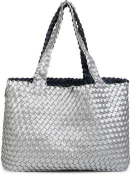 styleBREAKER XXL Wendetasche in Flecht-Optik, Shopper Tasche, Handtaschen Set, 2 Taschen, Bag in Bag, Schultertasche, Damen 02012163 – Bild 65