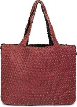 styleBREAKER XXL Wendetasche in Flecht-Optik, Shopper Tasche, Handtaschen Set, 2 Taschen, Bag in Bag, Schultertasche, Damen 02012163 – Bild 69