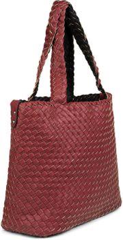 styleBREAKER XXL Wendetasche in Flecht-Optik, Shopper Tasche, Handtaschen Set, 2 Taschen, Bag in Bag, Schultertasche, Damen 02012163 – Bild 71