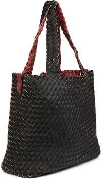 styleBREAKER XXL Wendetasche in Flecht-Optik, Shopper Tasche, Handtaschen Set, 2 Taschen, Bag in Bag, Schultertasche, Damen 02012163 – Bild 72