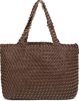 styleBREAKER XXL Wendetasche in Flecht-Optik, Shopper Tasche, Handtaschen Set, 2 Taschen, Bag in Bag, Schultertasche, Damen 02012163 – Bild 79