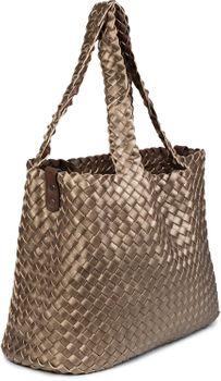styleBREAKER XXL Wendetasche in Flecht-Optik, Shopper Tasche, Handtaschen Set, 2 Taschen, Bag in Bag, Schultertasche, Damen 02012163 – Bild 82