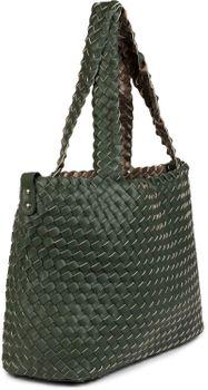 styleBREAKER XXL Wendetasche in Flecht-Optik, Shopper Tasche, Handtaschen Set, 2 Taschen, Bag in Bag, Schultertasche, Damen 02012163 – Bild 76