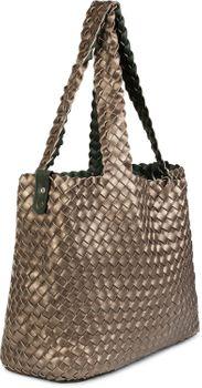 styleBREAKER XXL Wendetasche in Flecht-Optik, Shopper Tasche, Handtaschen Set, 2 Taschen, Bag in Bag, Schultertasche, Damen 02012163 – Bild 77