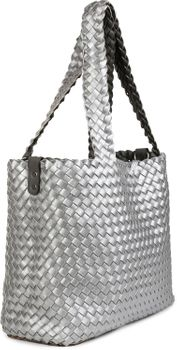 styleBREAKER XXL Wendetasche in Flecht-Optik, Shopper Tasche, Handtaschen Set, 2 Taschen, Bag in Bag, Schultertasche, Damen 02012163 – Bild 57
