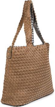 styleBREAKER XXL Wendetasche in Flecht-Optik, Shopper Tasche, Handtaschen Set, 2 Taschen, Bag in Bag, Schultertasche, Damen 02012163 – Bild 61