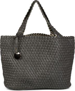 styleBREAKER XXL Wendetasche in Flecht-Optik, Shopper Tasche, Handtaschen Set, 2 Taschen, Bag in Bag, Schultertasche, Damen 02012163 – Bild 1