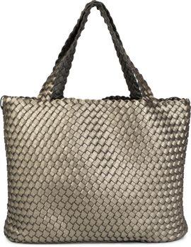 styleBREAKER XXL Wendetasche in Flecht-Optik, Shopper Tasche, Handtaschen Set, 2 Taschen, Bag in Bag, Schultertasche, Damen 02012163 – Bild 2
