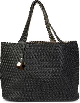 styleBREAKER XXL Wendetasche in Flecht-Optik, Shopper Tasche, Handtaschen Set, 2 Taschen, Bag in Bag, Schultertasche, Damen 02012163 – Bild 4