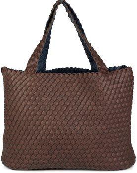 styleBREAKER XXL Wendetasche in Flecht-Optik, Shopper Tasche, Handtaschen Set, 2 Taschen, Bag in Bag, Schultertasche, Damen 02012163 – Bild 8