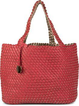 styleBREAKER XXL Wendetasche in Flecht-Optik, Shopper Tasche, Handtaschen Set, 2 Taschen, Bag in Bag, Schultertasche, Damen 02012163 – Bild 13