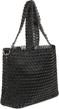 styleBREAKER XXL Wendetasche in Flecht-Optik, Shopper Tasche, Handtaschen Set, 2 Taschen, Bag in Bag, Schultertasche, Damen 02012163 – Bild 51