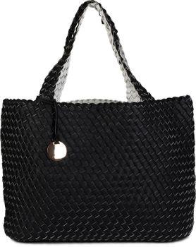 styleBREAKER XXL Wendetasche in Flecht-Optik, Shopper Tasche, Handtaschen Set, 2 Taschen, Bag in Bag, Schultertasche, Damen 02012163 – Bild 17