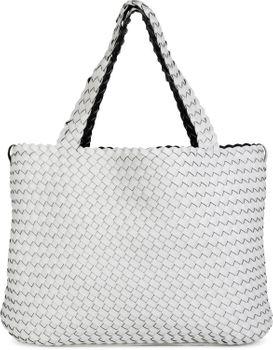 styleBREAKER XXL Wendetasche in Flecht-Optik, Shopper Tasche, Handtaschen Set, 2 Taschen, Bag in Bag, Schultertasche, Damen 02012163 – Bild 18