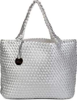 styleBREAKER XXL Wendetasche in Flecht-Optik, Shopper Tasche, Handtaschen Set, 2 Taschen, Bag in Bag, Schultertasche, Damen 02012163 – Bild 20
